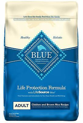 Blue Buffalo Life Protection Formula Adult Chicken & Brown, Dry Dog Food 30 Lb