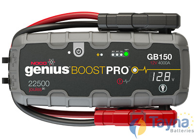 NOCO GB150 Boost PRO 4000A UltraSafe Lithium Jump Starter