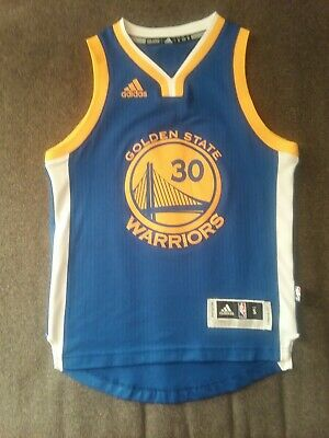 online store d1588 270dc STEPHEN CURRY GOLDEN State Warriors youth S small Adidas jersey NBA  basketball