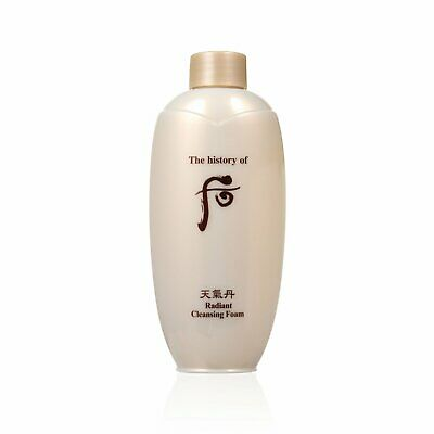 The History of Whoo Radiant Cleansing Foam 200ml Cleanser Limpiador Iluminación