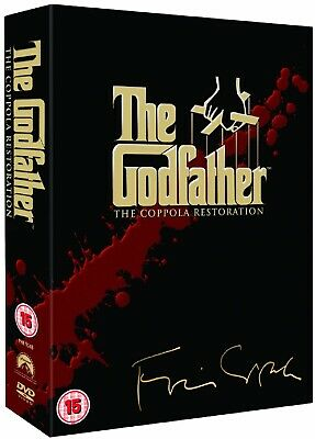 THE GODFATHER DVD Trilogy Coppola Restoration Boxset NEW SEALED