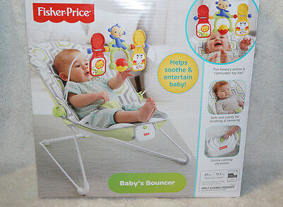 Fisher-Price Baby's Bouncer -Geo Meadow