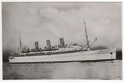 RMS EMPRESS OF CANADA Canadian Pacific RPPC RP Real Photo CP Ocean Liner SHIP