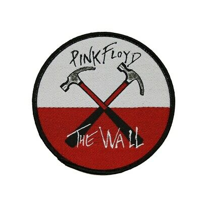 Pink Floyd The Wall Hammers Patch Band Album Rock Music Woven Sew On Applique