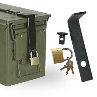 Ammo Can Lock System fits 50cal 5.56 60mm 40mm 20mm Ammo Box #08-6167