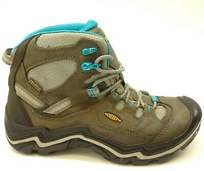 ef96c51a790 KEEN DURAND MID WP US 9 EU 39.5 Leather Athletic Support Hiking Trail Mens  Boots