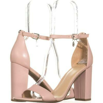 fcdd79a9813 GUESS BAMBOO ANKLE Strap Heeled Sandals 857