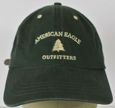 3c6798f9b4141 Green American Eagle Outfitters Baseball hat cap adjustable leather strap