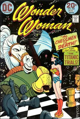 Wonder Woman (1st Series DC) #208 1973 VG Stock Image Low Grade