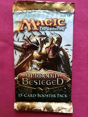 Magic The Gathering MIRRODIN BESIEGED New Sealed Booster Pack MTG