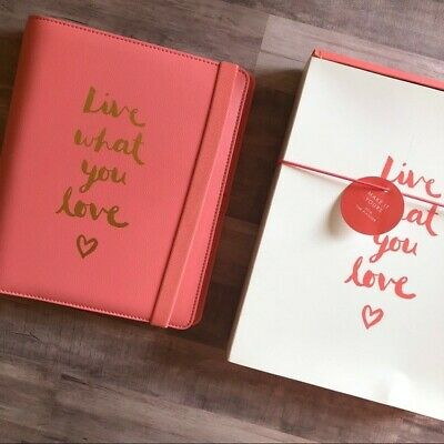 Live What You Love Kikki K Leather Planner