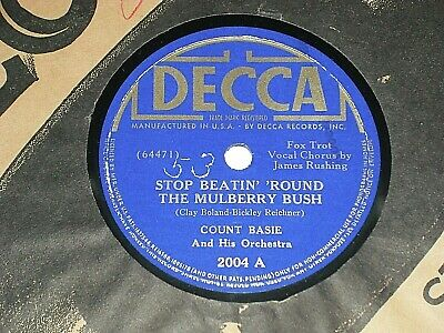 STOP BEATIN' 'ROUND THE MULBERRY BUSH 1938 Band/Orchestra