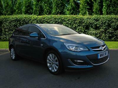 2015 Vauxhall Astra Sports Tourer 1.6i 16V Elite 5dr Auto Estate Petrol blue Aut