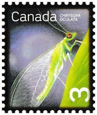Canada 2235 Beneficial Insects Golden-eyed Lacewing 3c single (1 stamp) MNH 2007