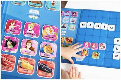 Woolworths Disney Words Tiles - Finish Your Collection NOW! *Free Postage
