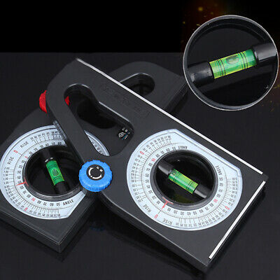 1 Pcs Magnetic Bevel Angle Inclinometer Gauge Protractor Level Slope Scale Tool