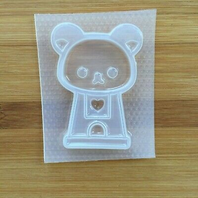 Kawaii Gumball Machine Shaker Resin Mold Mould Flexible Plastic Food Safe Bear