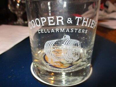 6 NEW COOPER /& THIEF CELLAR MASTERS ETCHED High Ball Glasses 10 OZ