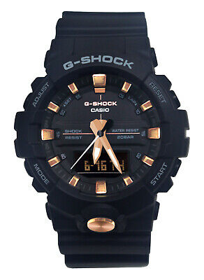 Casio GA810B-1A4 G-Shock Black Rose Gold Digital Watch FREE shipping & returns