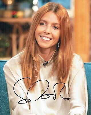 Stacey DOOLEY TV Presented Journalist SIGNED Autograph 10x8 Photo 6 AFTAL COA