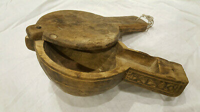 Antique Islamic Charming Old Wooden Coffee Cooler Ottoman Turkish