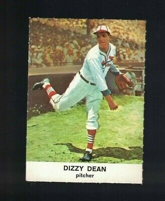Dizzy Dean St. Louis Cardinals1961 Golden Press Perforated Baseball Card #8