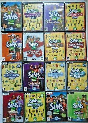 The Sims 2 Base Game and Expansion Packs (PC Games)