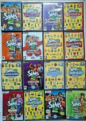 The Sims 2 Base Games and Expansion Packs (PC Games)