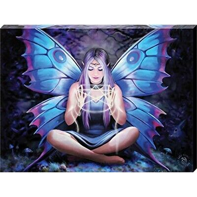 Small Spell Weaver Canvas Picture By Anne Stokes