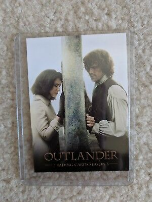 Outlander Cryptozoic promo trading card season 3 Jamie and Claire Fraser P8 SDCC