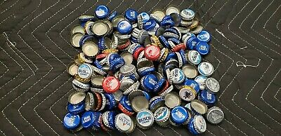 200 Mixed Assortment Beer Bottle Caps DENTS USED Washed Clean Crafts Projects