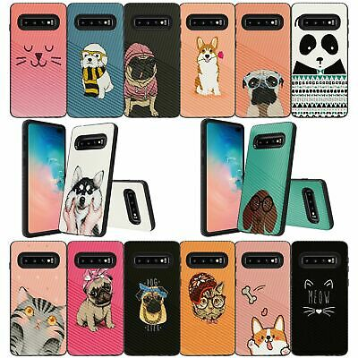 For Samsung Galaxy S10 Plus | S10 Plus Embossed Texture Protective Case - Pets