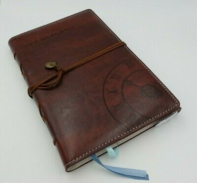 Beautiful Vintage Faux Leather Writing Journal Refillable Diary Notebook Gift L7