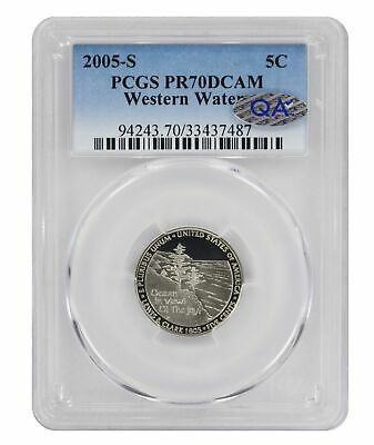 AVAILABLE FOR SHIPMENT 2015-S PROOF JEFFERSON NICKEL 5c DEEP CAMEO GEM CLAD