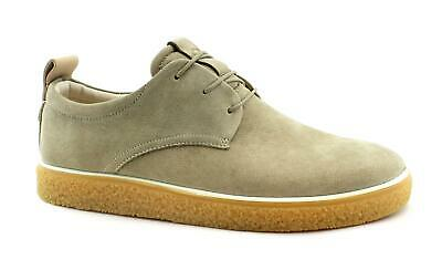 ECCO 200354 CREPETRAY poudre beige chaussures hommes baskets lacets cuir