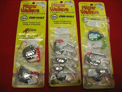 Northland Tackle Mr Walleye Crawler Harnesses 10Ct