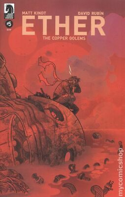 Ether The Copper Golems (Dark Horse) #5A 2018 VF Stock Image
