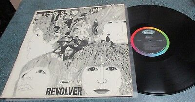 BEATLES 1966 US Capitol ST 2576 LP REVOLVER Vinyl is near mint