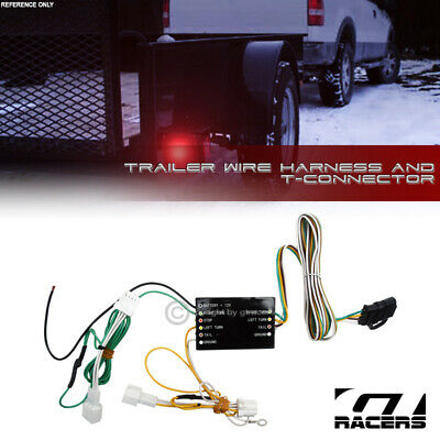 for 2006-2007 nissan murano trailer hitch 4-way output wire harness t-