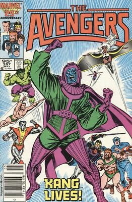 Avengers (1st Series) Canadian Price Variant #267 1986 VG 4.0 Stock Image