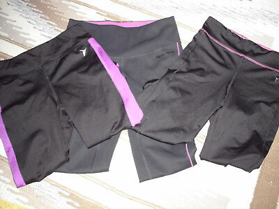 Old Navy / New Balance Girls Compression Crops Active Wear • Size L (10-12)