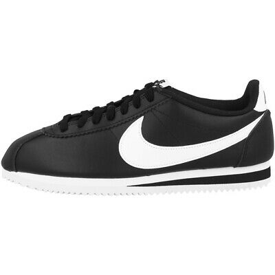 NIKE CLASSIC CORTEZ Leather Women Schuhe Damen Sneaker black