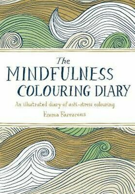 NEW The Mindfulness Colouring Diary Diary Free Shipping