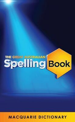 NEW The Great Australian Spelling Book By Macquarie Dictionary Paperback