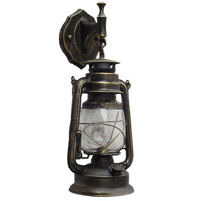 Retro Antique Vintage Rustic Lantern Lamp Wall Sconce Light Fixture OutdoorE27 M