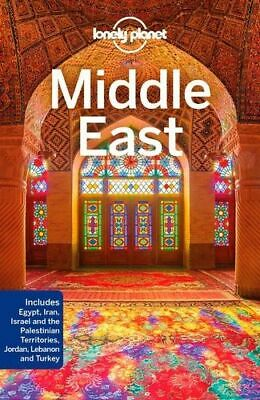 NEW Middle East By Lonely Planet Travel Guide Paperback Free Shipping