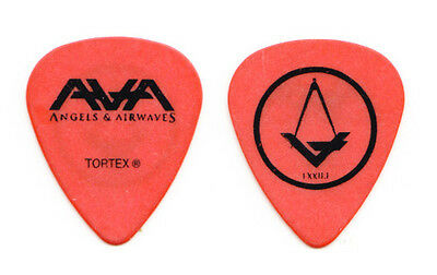 Angels & Airwaves Tom DeLonge Compass Orange Guitar Pick - 2010 Tour Blink-182