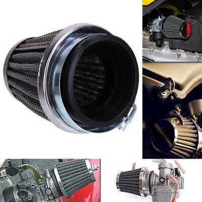 50MM Inlet Air Intake Tapered Air Filter Cleaner For Racing Car Motorcycle LD