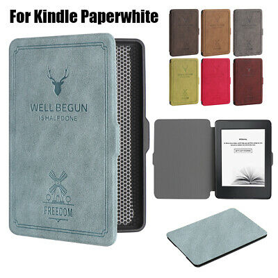 New Smart Case e-Books Reader Cover Protective Shell Soft TPU Leather Magnetic