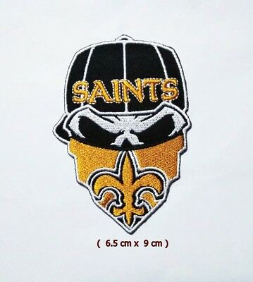 New Orleans Saints  NFL Sport Logo Embroidery Patch Iron and sewing on Clothes.